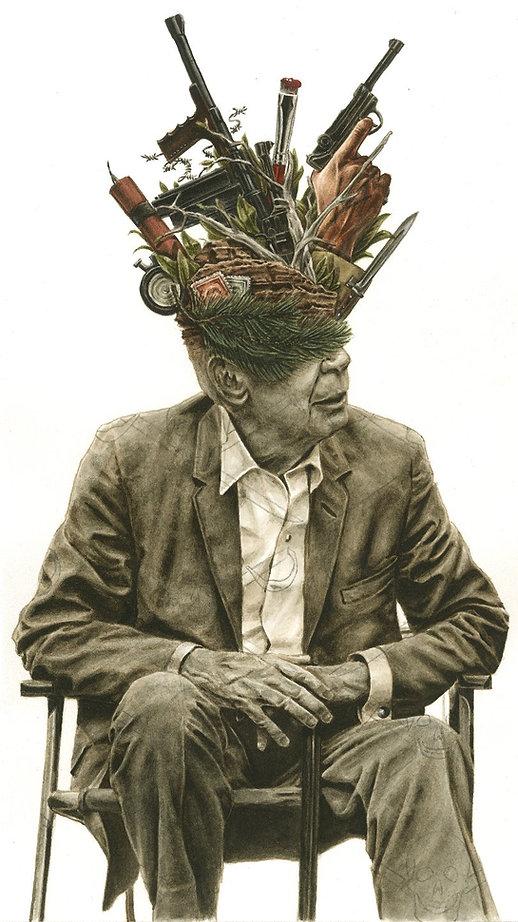 Stan, André Van Glabeke, dessin de Milan Jespers