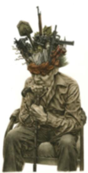 Ulysse, Marcel Franckson, dessin de Milan Jespers