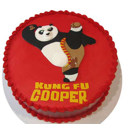 Kung-Fu Panda Cake