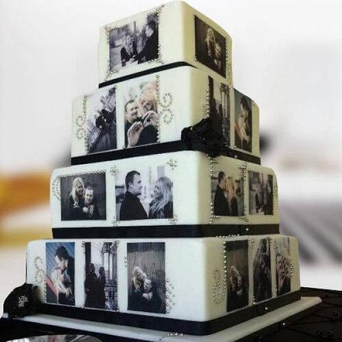 White Castle Anniversary Cake