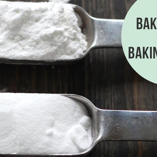 Baking Basics: Baking Powder vs Baking Soda