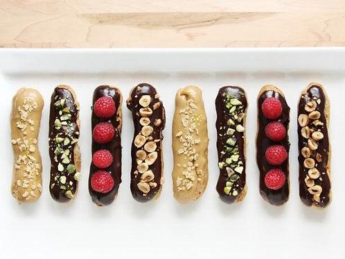 Exotic Fruit & Nut Choco Eclairs (3)