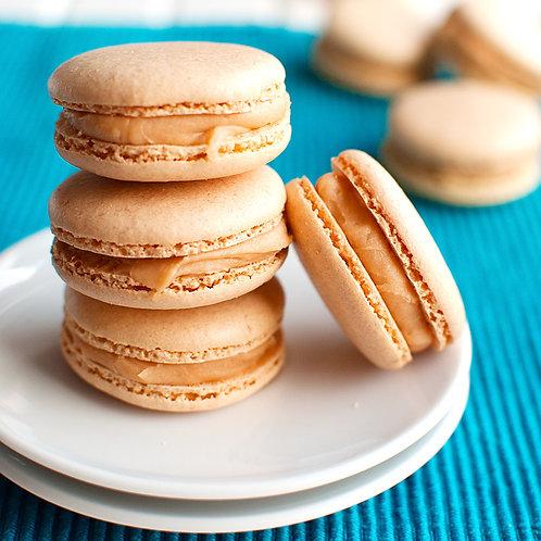 Caramel Macarons