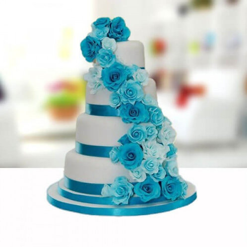 The Royal Blues Anniversary Cake