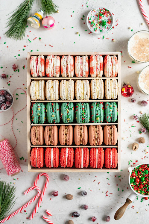 Delectable Macarons set of 12