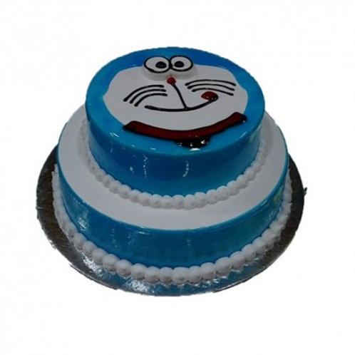 Doraemon 2 Tier Cake