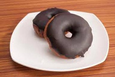 Classic Chocolate Glazed Doughnuts