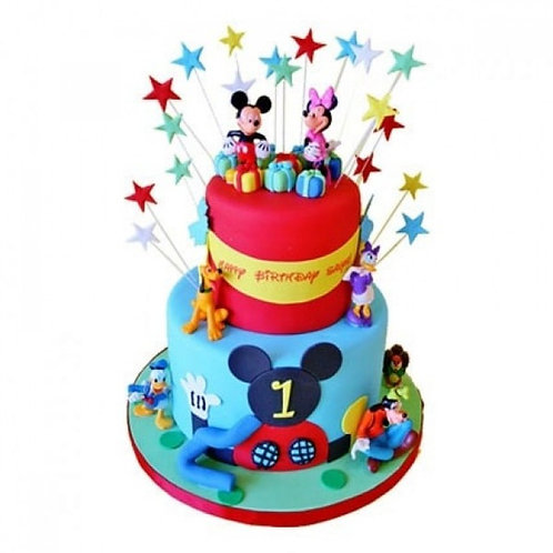 Mickey Mouse Carnival Cake