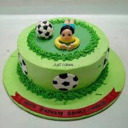 The Footballer Cake