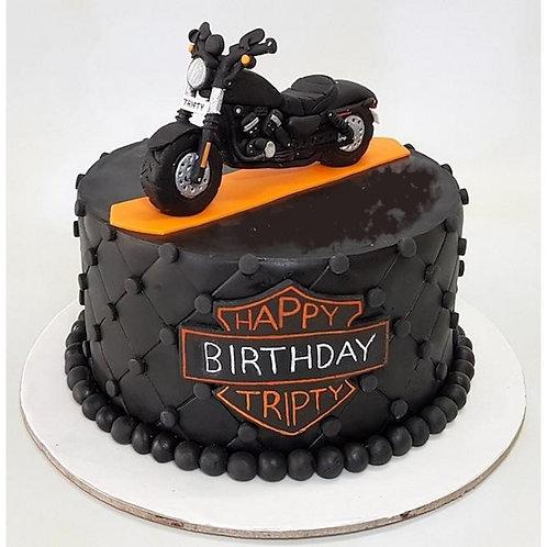 Heartly Harley cake