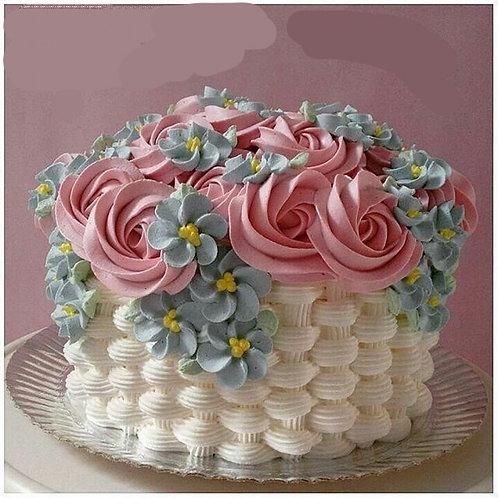 The Flower basket Cake