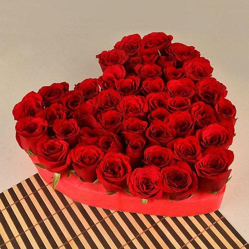 Dazzling Red Love