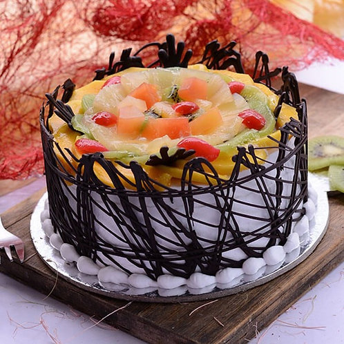 Fruit Magic Cake