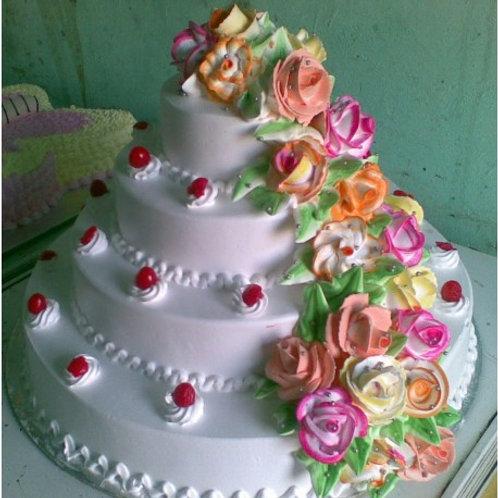 Roses Tier Cake