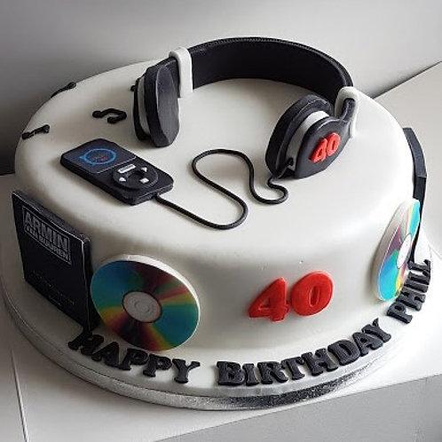 In-House DJ Cake