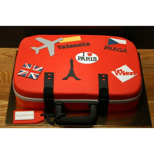 Pack your Bag Cake