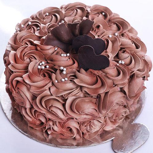 Classy Rose Cake