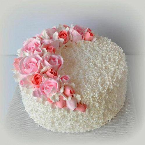 White Beauty Cake