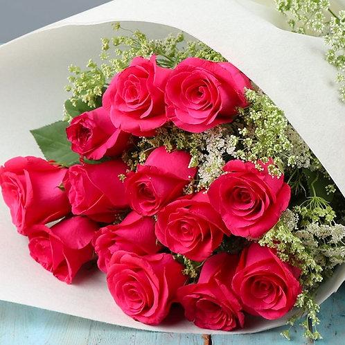 Marvelous Pink Rose Bouquet