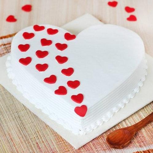 White Love Cake