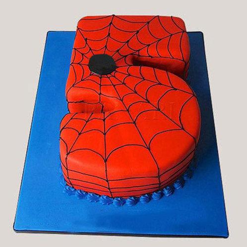 Number 5 Cake
