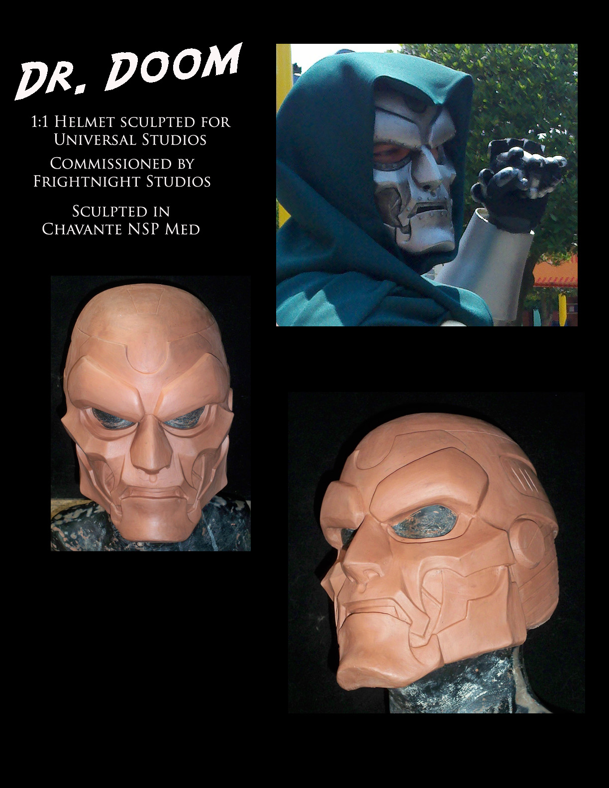 Dr. Doom Helmet
