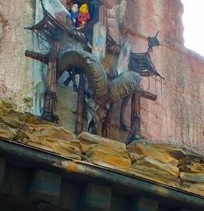 Tibetan Skydoor in Animal Kingdom