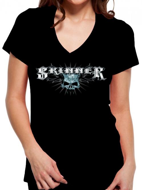 """SKINNER - Woman's """"Skull Logo"""""""