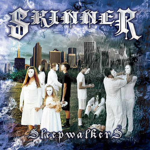 "SKINNER - ""Sleepwalkers"" CD"