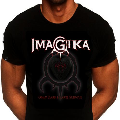 "Imagika: Men's ""Only Dark Hearts Survive"" Shirt"