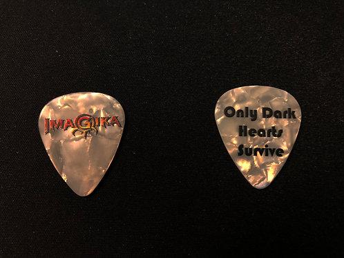Imagika: Only Dark Hearts Survive Guitar Pick
