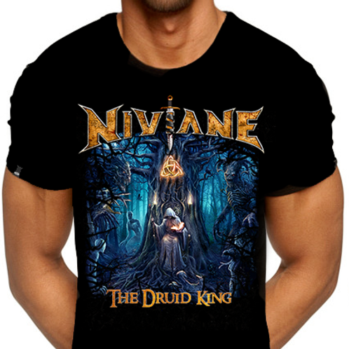"NIVIANE: Men's ""Druid King"" Shirt"
