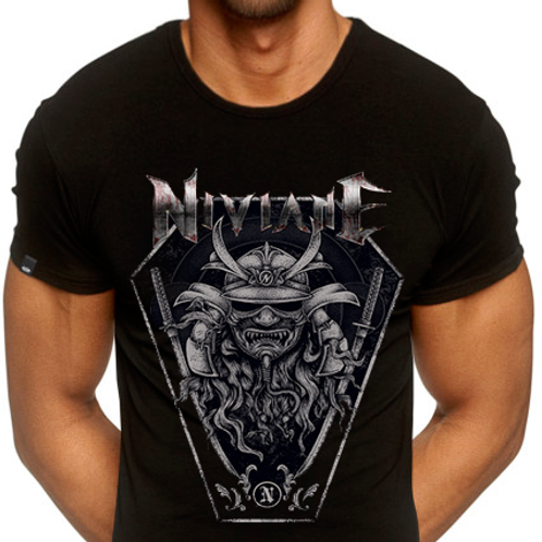 "NIVIANE: Men's ""Arise Samurai"" Shirt"