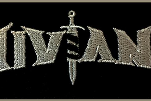 """NIVIANE: """"Silver Logo"""" Patch"""