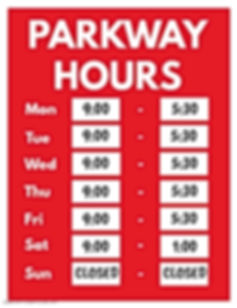 Copy of Business Hours Opening Hours Fly