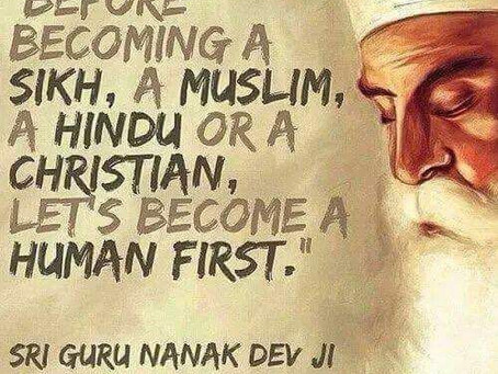 Be Human First