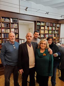 Roma, 18 gen. 2020. L-R: L. Fontanella, P. Perilli, P. Carlucci, I. Marchegiani, D. Rampa