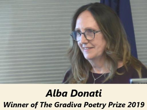 2019 GRADIVA Poetry Prize Winner: Alba Donati
