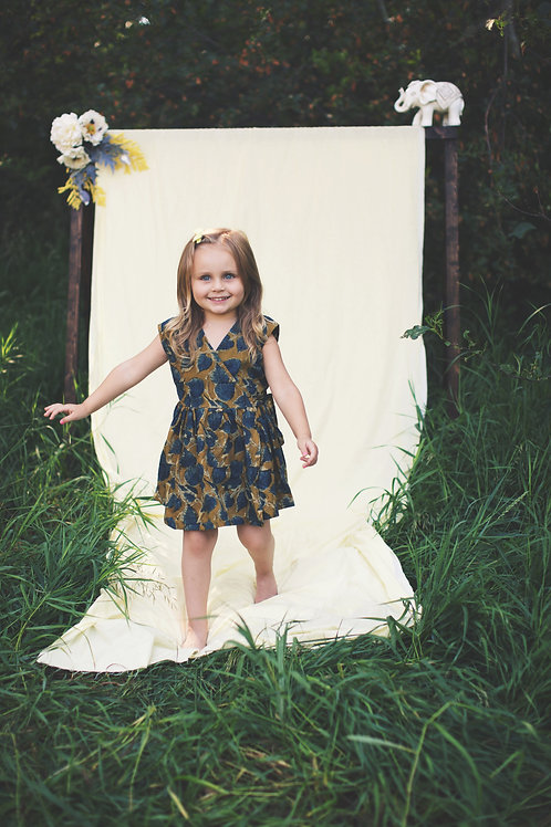 Olivia dress - Mustard