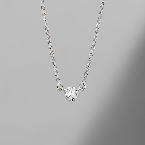 Lucy - Petite Solitare Necklace