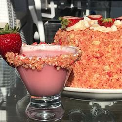 Strawberry Shortcake Martini