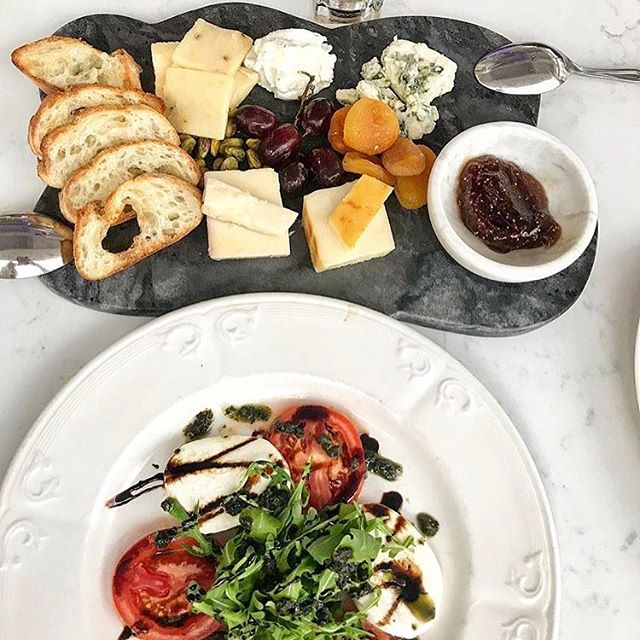 Cava's New Cheese Plate & Caprese Salad