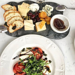 Cava's New Cheese Plate & Caprese Salad