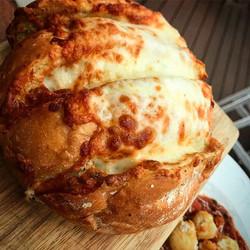Cava's New SIX Cheese Garlic Bread!