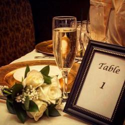 Beautiful wedding set up at Cava