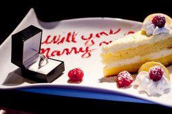 Lemon Cake for a Proposal