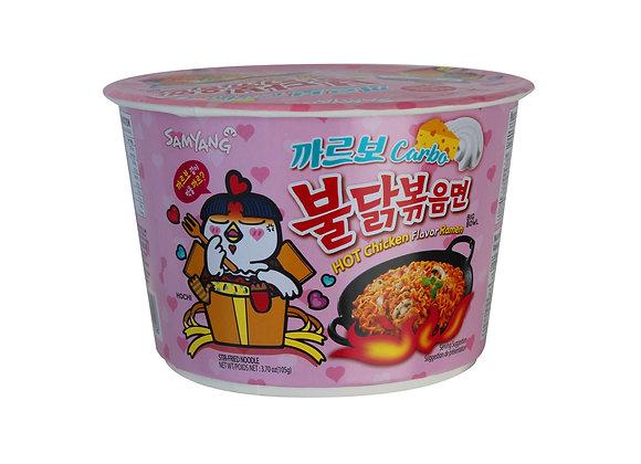 Hot Chicken Ramen Carbo Big Bowl 105g