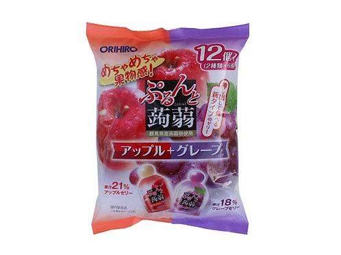 Apple & Grape Konnyaku Jelly 240g