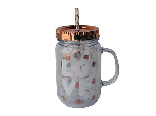 Jar Mug 450ml - LOVE 22004351