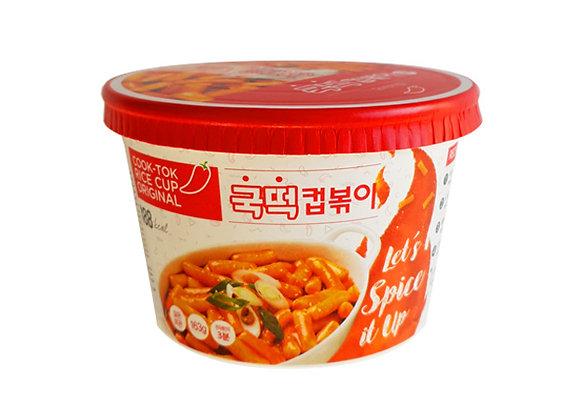 BOX | Instant Cook-Tok Rice Cup Original (Topokki) 163g x 16